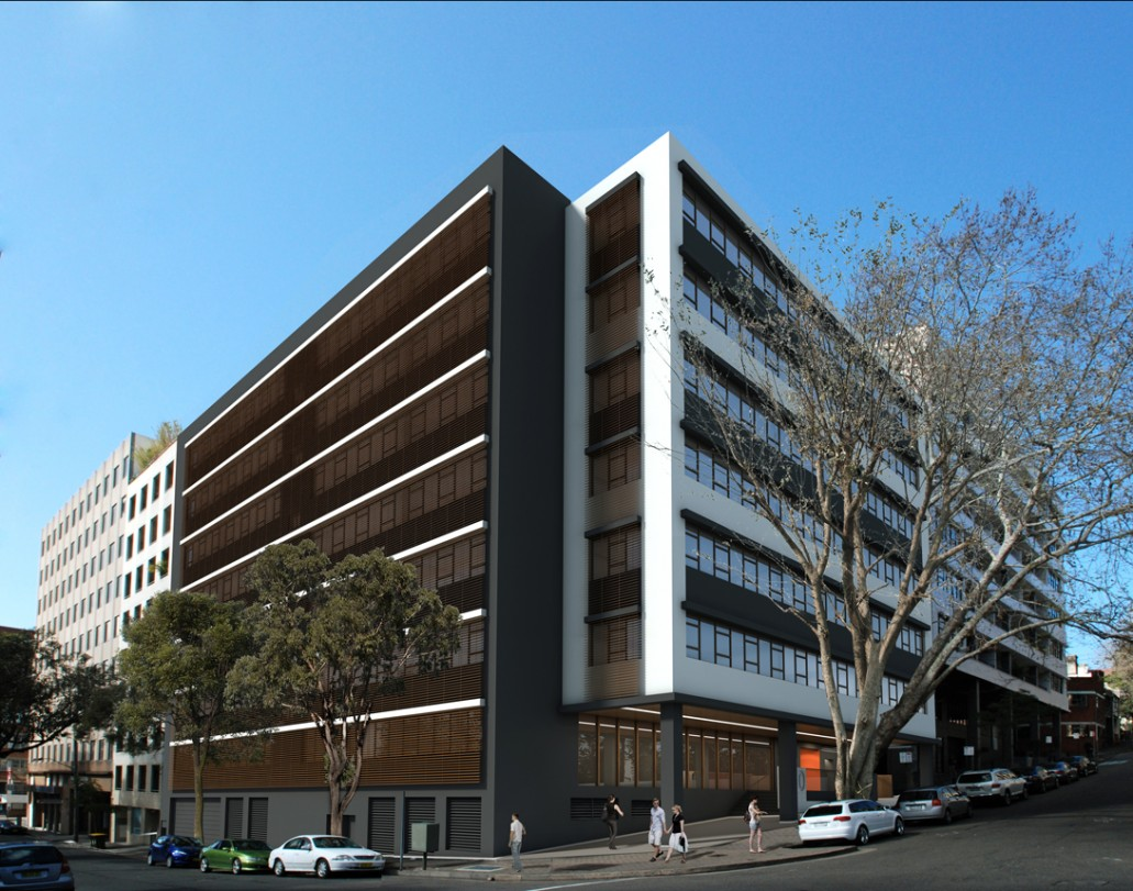 Surry hills office building makeover concept form for Modern office building design concepts exterior